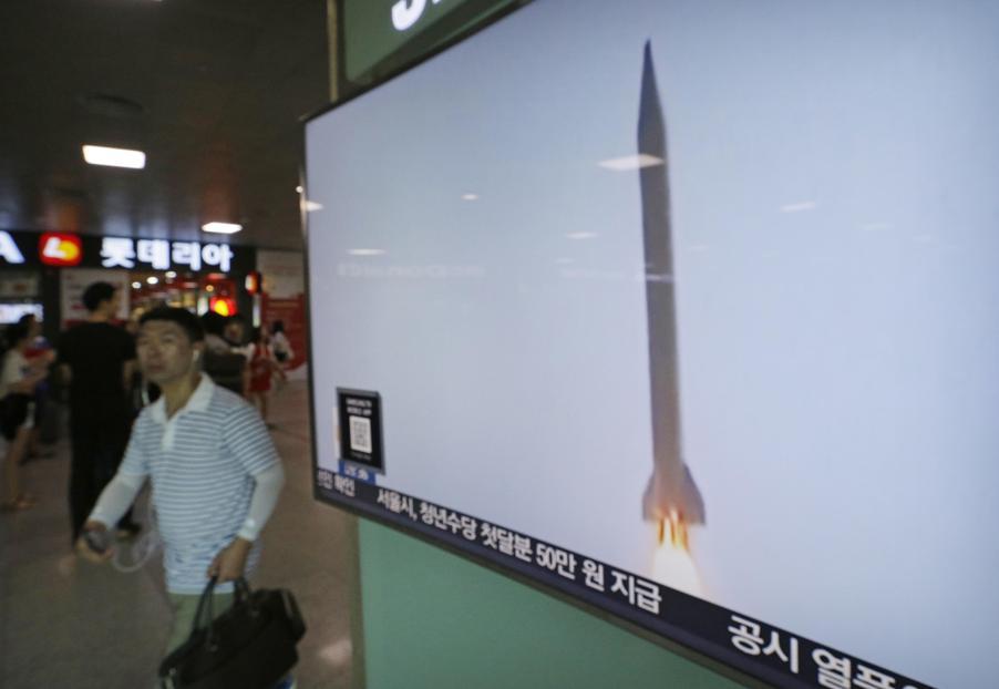 La Corea del Nord lancia un missile in territorio giapponese